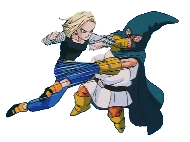 C18 vs mighty mask by 19onepiece90 on deviantart - Dragon ball z c18 ...