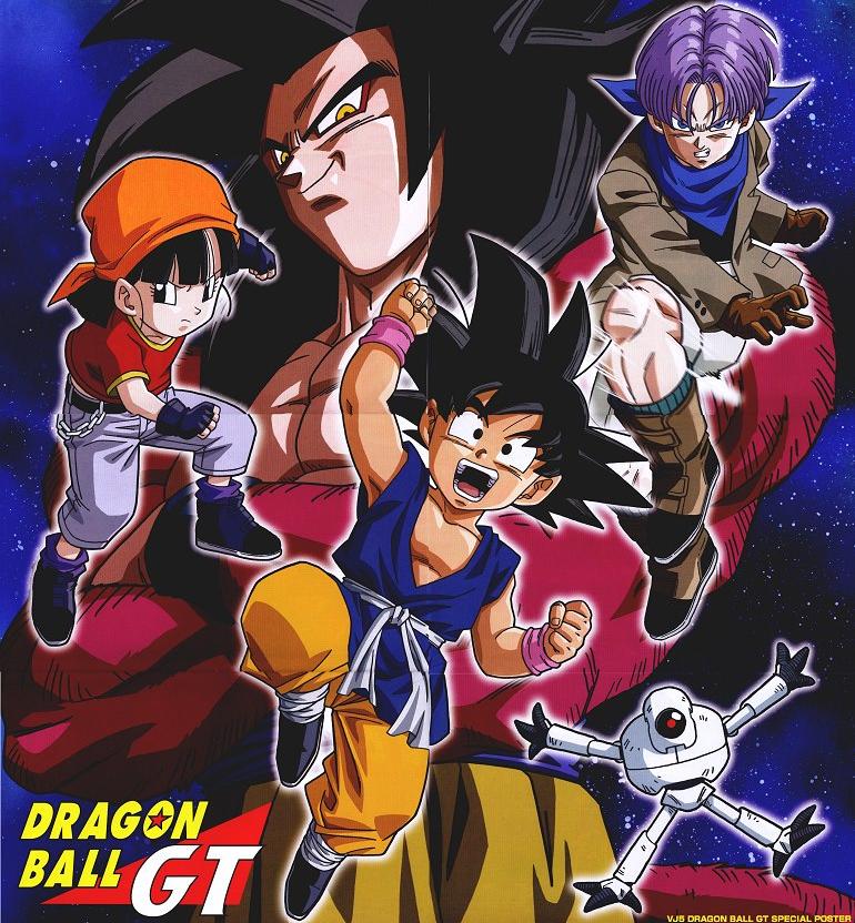 Dragon Ball GT - Goku and Pan by elclon on DeviantArt