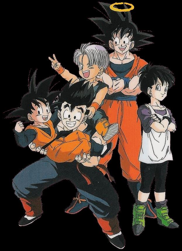 Goku Gohan Goten Trunks Videl by 19onepiece90 on DeviantArt