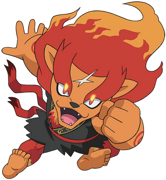 Yo kai watch leofuoco by 19onepiece90 on deviantart for Chambre yo kai watch