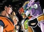 Goku Veget Crili Gohan Squadra Giniu