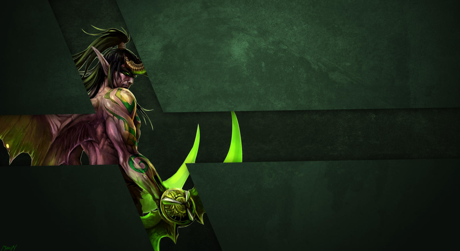 world of warcraft illidan wallpaper by kaster533 on