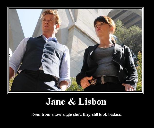 The Mentalist - Jane/Lisbon #1: