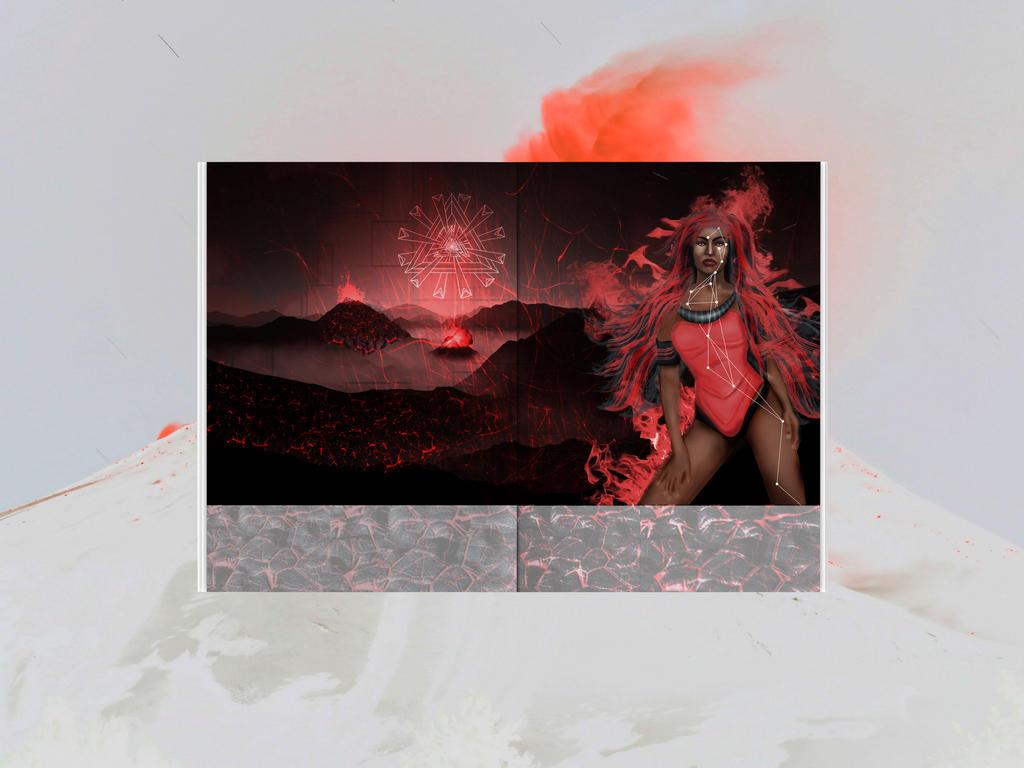 Goddesses of Africa | Fire, Volcano by arthitect91