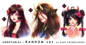 [OPEN1/3] Adoptables : RANDOM set by MrDark91