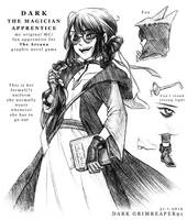 DARK - the magician apprentice by MrDark91