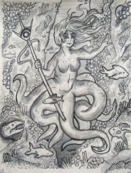 Deep Sea B*tches - Octo Warrior Princess