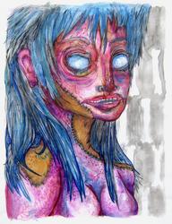 Stinking Zombie Girl