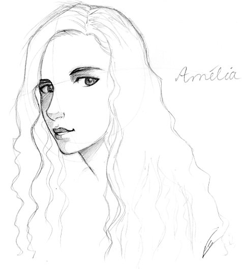Info : Amelia by floangel