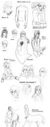 Sketch Dump - Doodles by floangel