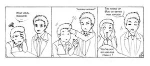 Strip SPN - Castiel fingers by floangel