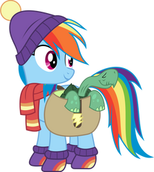 [MLP] Rainbow Dash Winter Outfit