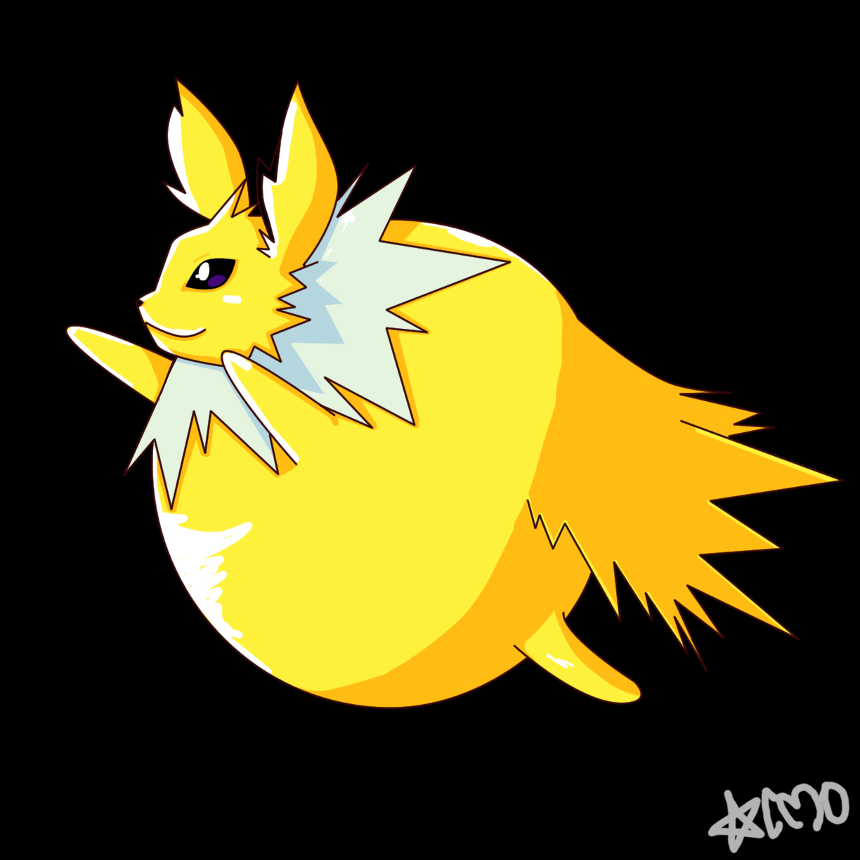 Jolteon Inflatable By ChrONa-SarAy On DeviantArt