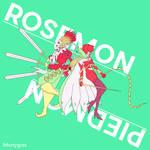 Rosemon and Piedmon