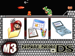Nintendo DS Menu Screen by mobydisk