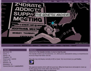 RepoThe Genetic Archive skin by AnarchicQ