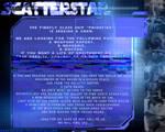 ScatterStar - Multiverse Forum RPG advertisement