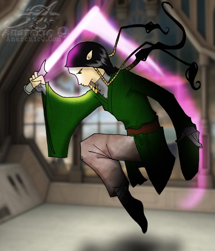 Dvorak Seti - Gelfling Jedi in Training