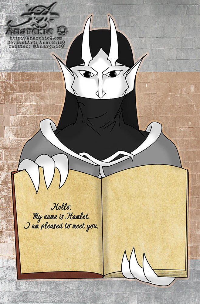 Gargoyles OC - Hamlet Introducing Himself