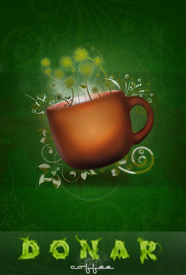 DONAR coffee adv by ImagineShop