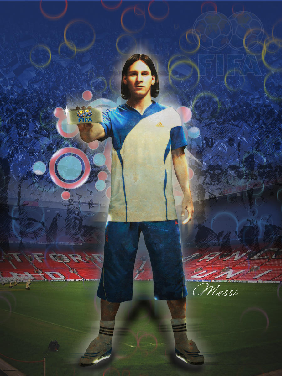 Messi poster by ImagineShop