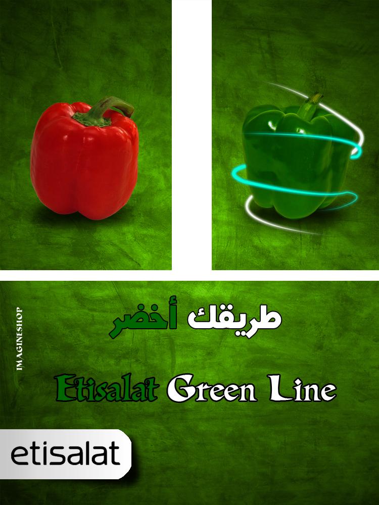 etisalat green line by ImagineShop