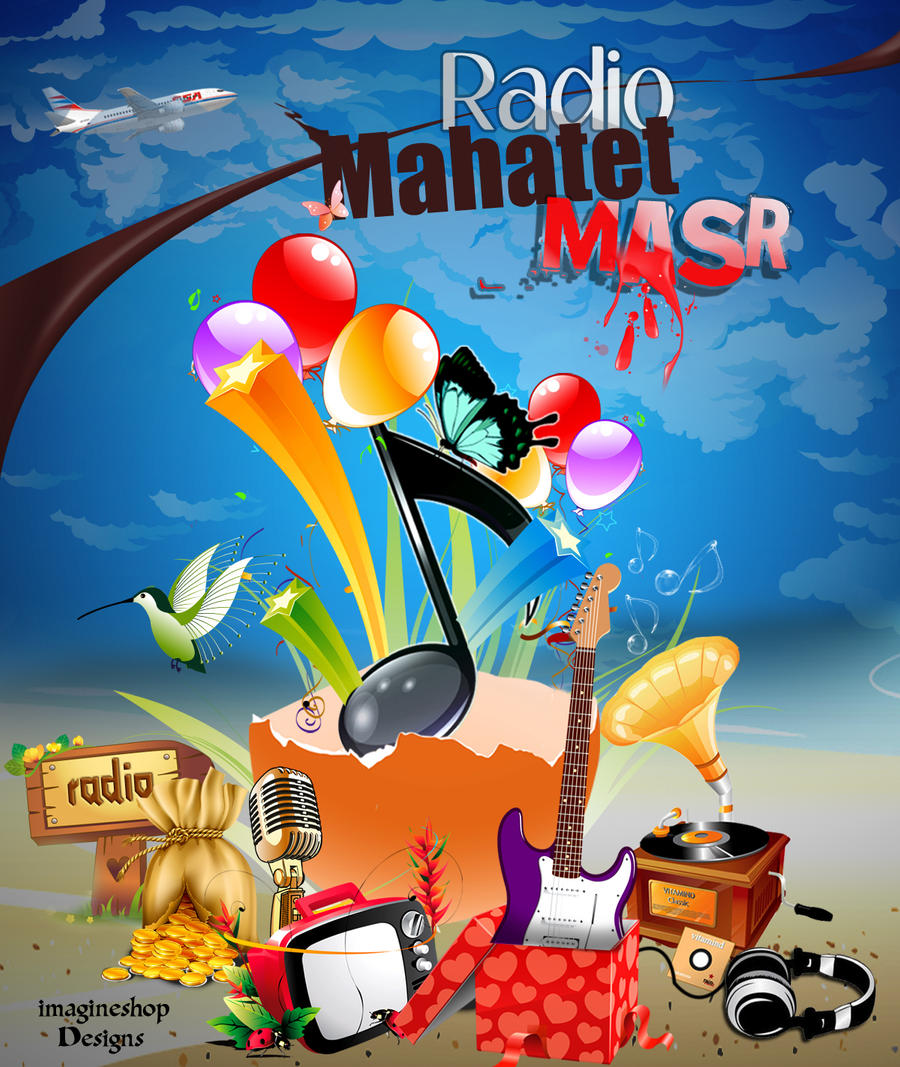 Radio Mahahtet Masr by ImagineShop
