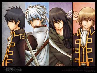 Gintama : Hero by hikariix