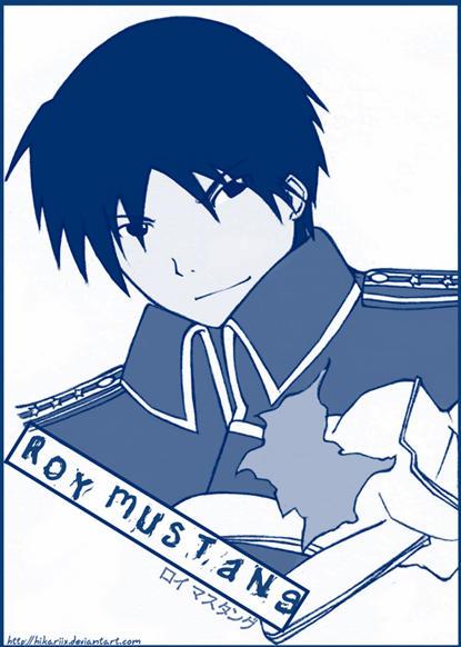 Roy Mustang by hikariix