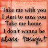 I Don't Wanna Be Alone Tonight by Velvet87