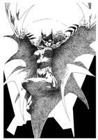 Batgirl inks by Rorkas