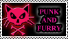 Punk And Furry Stamp by kalamadae