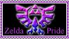 Bi Pride Zelda Stamp by kalamadae
