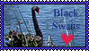 Black Swan Stamp by kalamadae