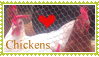 Love Chickens Stamp by kalamadae
