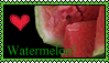 Watermelon Stamp by kalamadae