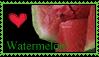 Watermelon Stamp by kalamadae