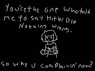 Chara is basically one of those online AI by 3mburrHunturr
