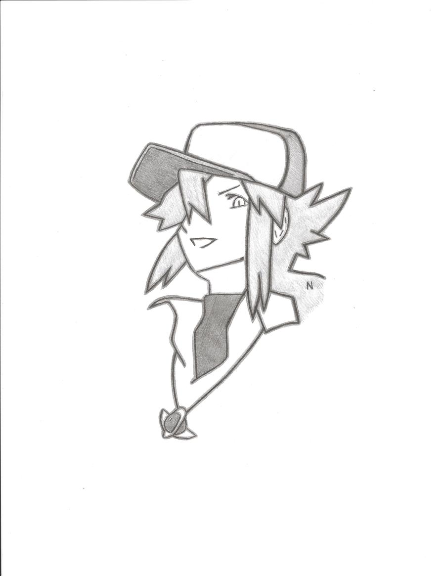 N Drawing Shaded by Olyu