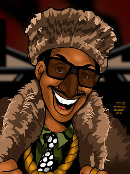 Shock G aka Humpty Hump Cartoon