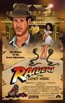 Raiders Of The Lost Ark Poster Style Art
