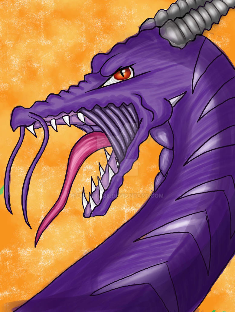 Fallen Dragon- Violet/Purple by Dragita88