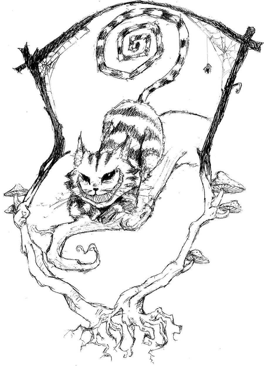The Cheshire Cat by thewywy101