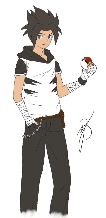 Bazgrołki Bercika... - Page 2 Shigeru_nakatoni___pokemon_trainer_by_mrbercikovsky-da35d52
