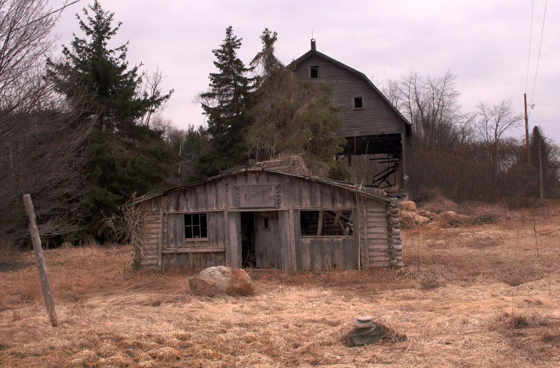 barns by fallenbarn-stock