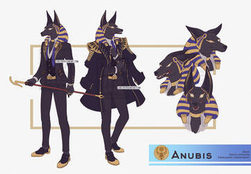 Anubis by Lineith