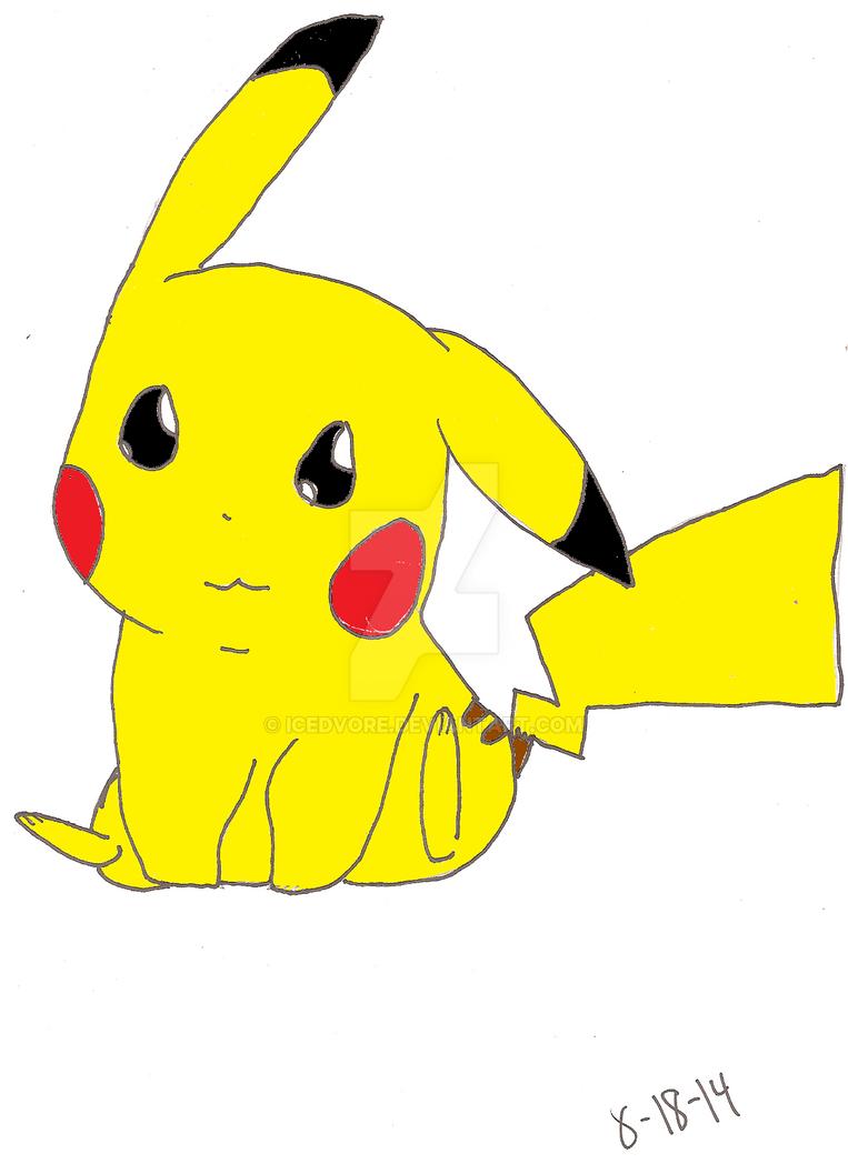 Pikachu by Icedvore