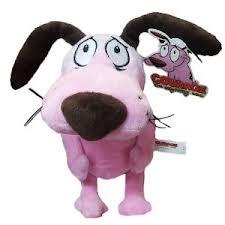 Courage The Cowardly Dog Plush Toy