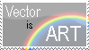Vector is ART by BowmanKestrel
