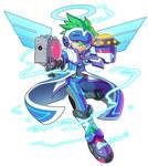 Azure Striker Gun No 9